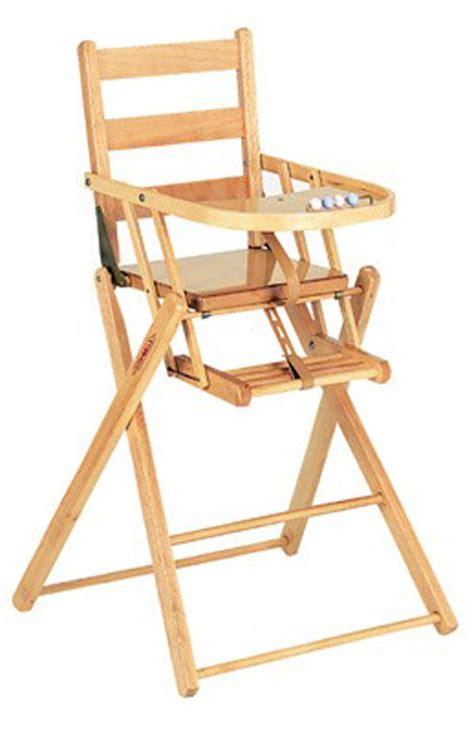 chaise haute bébé en bois acheter chaise haute en bois pliante finition ecologique avec eco sapiens