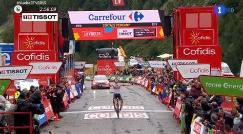 Resumen 9 Etapa Vuelta España by Vuelta A Espa 241 A 2019 Resumen Y Clasificaci 243 N De La Etapa