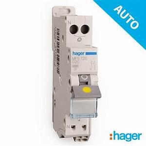 Disjoncteur Différentiel Hager : hager disjoncteur lectrique auto phase neutre 20a mfs720 ~ Nature-et-papiers.com Idées de Décoration