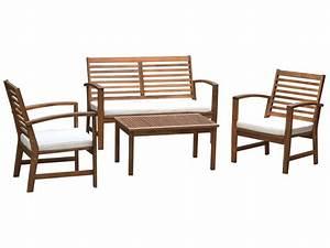 Fauteuil De Salon De Jardin : salon de jardin banc 2 places deux fauteuils et une table basse mahe vente de salon de jardin ~ Melissatoandfro.com Idées de Décoration