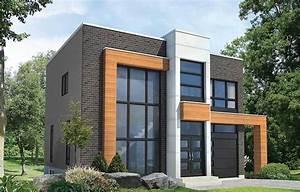 Open Concept Modern House Plan - 80827pm