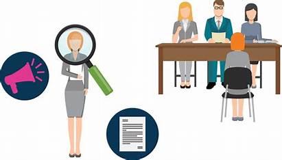 Recruitment Clipart Agency Employment Transparent Solutions Recruiter