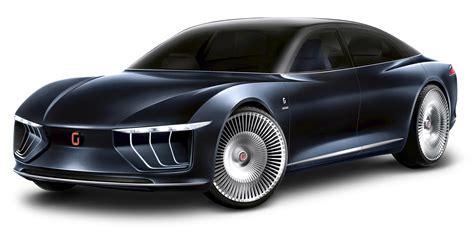 Luxury Giugiaro Gea Blue Car Png Image Pngpix