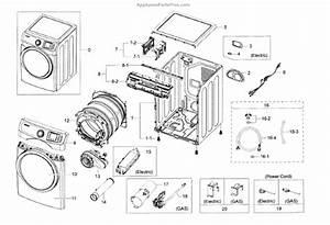 Parts For Samsung Dv42h5600gp  A3    0000  Main Assy Parts