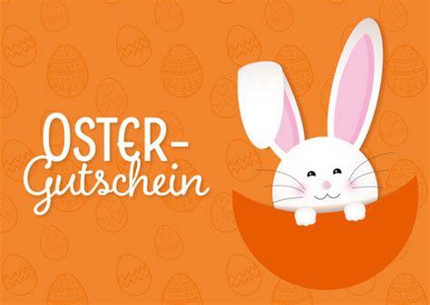 Osterhasen vorlagen zum ausdrucken bild vorlage. Geschenkgutschein Osterhase - Kostenlose Vorlage zum Download