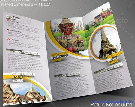 Cruise Travel Brochure Template Design 30 Best Travel Agency Trifold Brochure Print Templates