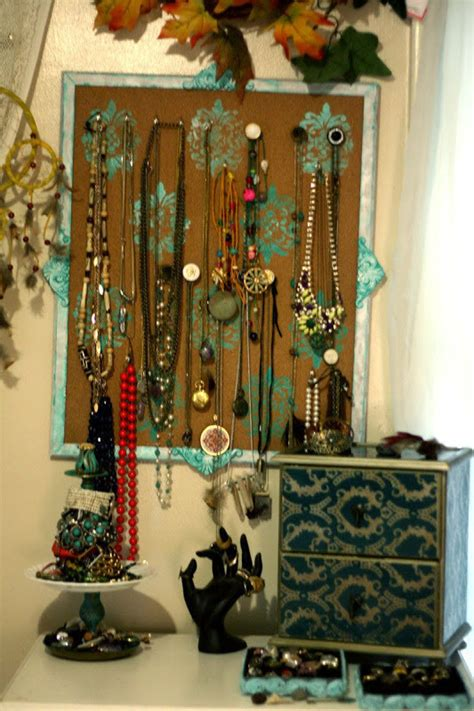 cool diy ideas  making  jewelry holder guide patterns