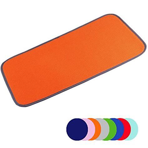orange kitchen floor mats jovilife dish drying mat kitchen mat set of 2 microfiber 3763