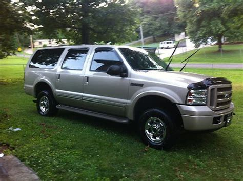 buy   ford excursion  limited  bridgeport
