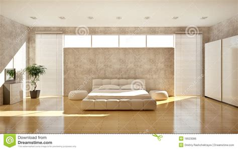 modern interior   bedroom royalty  stock image