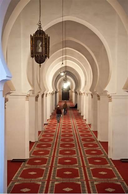 Mosque Koutoubia Inside Marrakesh Interior Commons Wikipedia