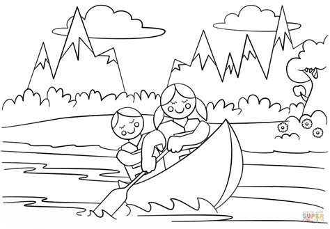 Girl Scouts Adventure Coloring Page Free Printable