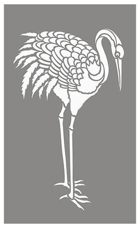 japanese stencils  birds  pinterest