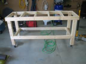 Lawn Mower Work Bench eaa workbench completed andrew s rv 7 build log
