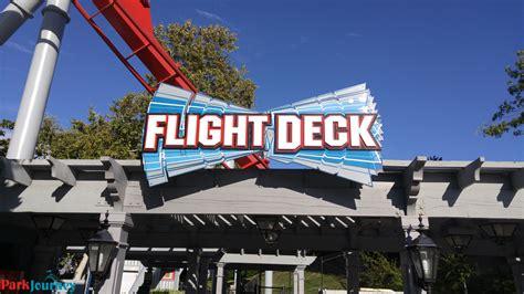 Flight Deck Troline Park Hours by 9 1 2015 California S Great America