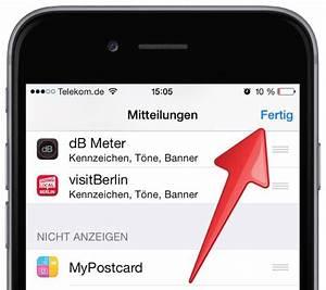 Iphone Apps Aufräumen : iphone zu viele mitteilungen abschalten mobil ganz ~ Lizthompson.info Haus und Dekorationen