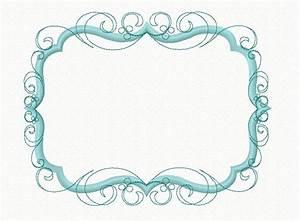 Instant Download Flourish Swirly Frame Machine Applique ...