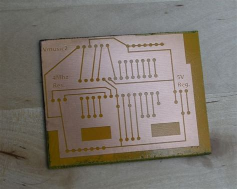 Printed Circuit Boards Pcb Using The Laser Cutter