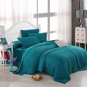 Solid, Teal, Bedding, Bedspread, Bedroom, Sets