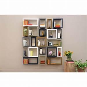 Etagere Salon Design : etag re murale design highstick etagere presse citron chez pure deco ~ Teatrodelosmanantiales.com Idées de Décoration