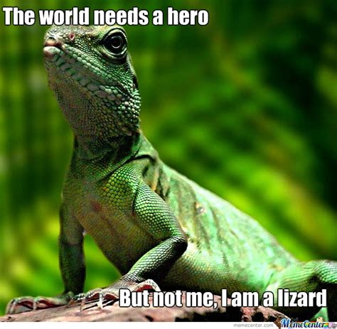 Lizard Meme The Lizard By Ollyizard Meme Center