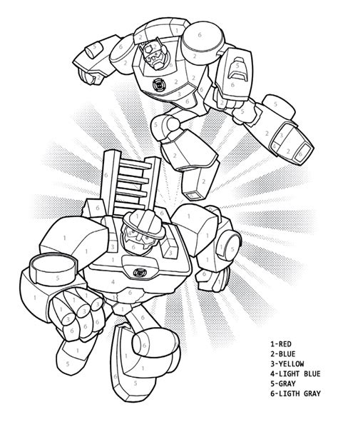 rescue bots coloring pages  coloring pages  kids