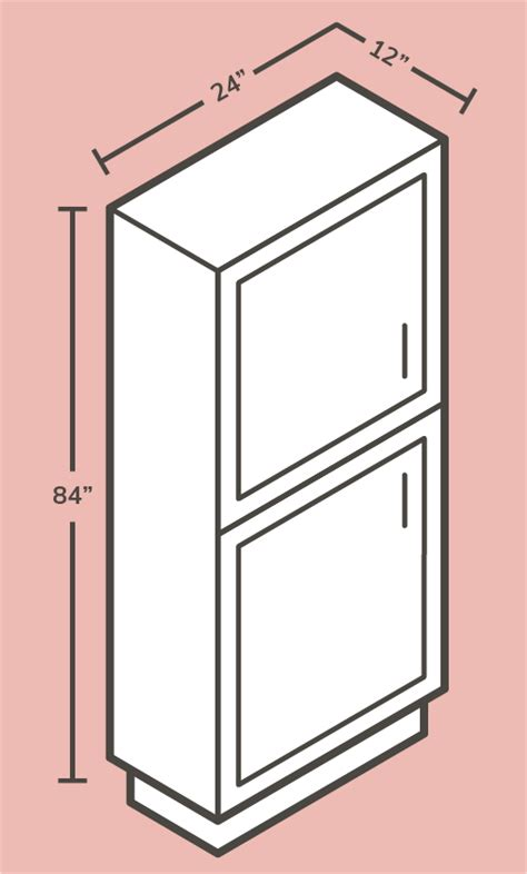 guide  kitchen cabinet sizes  standard dimensions