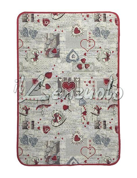 tappeto gommato tappeto per cucina gommato antiscivolo varie misure cuore