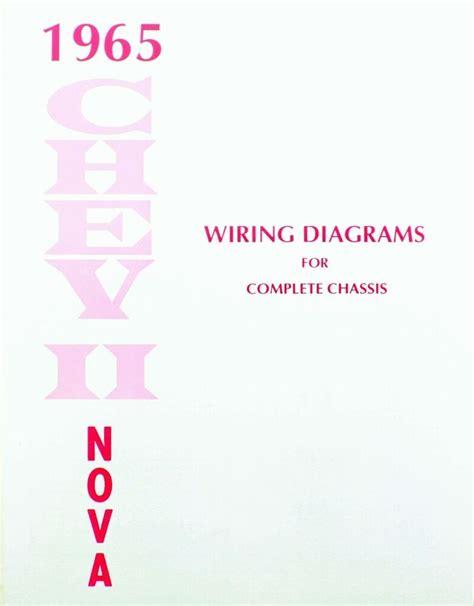 Chevy Nova Electrical Wiring Diagram Manual Ebay