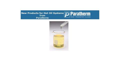 Paratherm Heat Transfer Fluids
