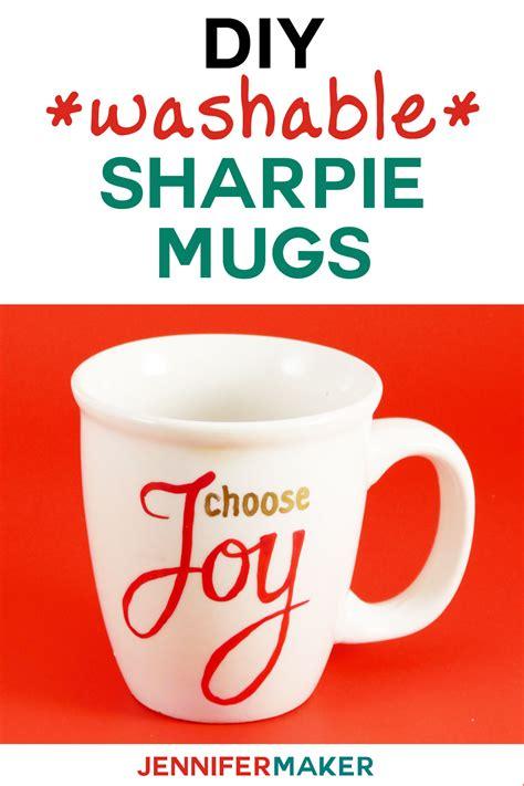 diy sharpie mugs  easy personalized gifts jennifer maker