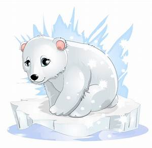 baby polar bear drawing - Google Search | ♥ Polar Bears ...