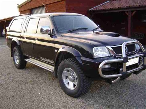 mitsubishi warrior l200 mitsubishi l200 2 5td warrior pickup 4dr full service