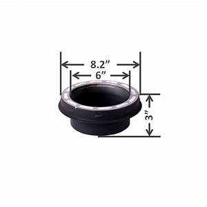 Comfortbilt 8 Inch Single To Double Wall Pipe Adapter  304