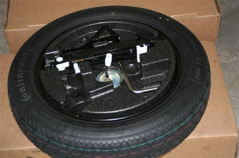 Bmw Oem Spare Tire Set With Bmw Jack And Necessary Tools