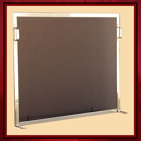 contemporary fireplace screen northshore fireplace