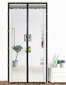 Vorhang Für Terrassentür : magnet fliegengitter t r insekten fliegen vorhang klebstoff angepasst schwarz ebay ~ Orissabook.com Haus und Dekorationen
