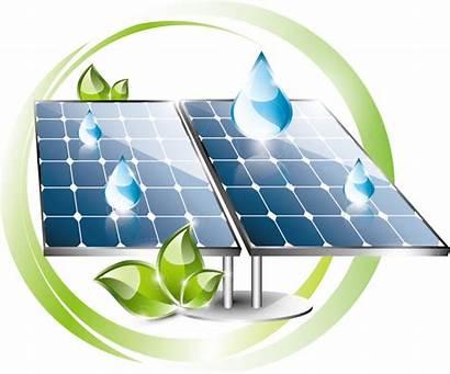 Solar Energy Panel Vector Renewable Power Panels
