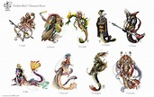 Fascinating Illustrations Of Different Kinds Of Dragons ...