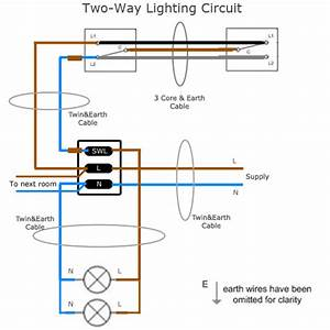 Lighting Circuit Wiring Diagram 2 Way
