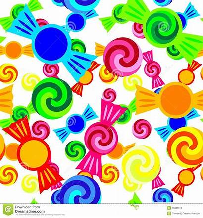 Candy Pattern Illustration Royalty Vector Repetition Dreamstime