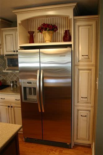 fridge cabinet ideas google search kitchen