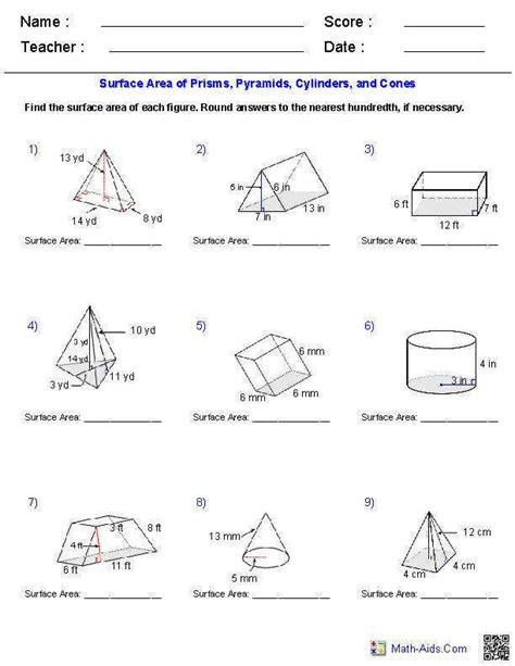 volume of a cone worksheet homeschooldressage com