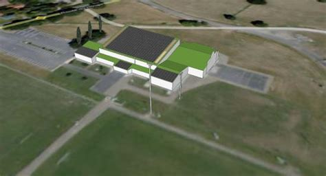 salle des sports d aire sur l adour projets port 233 s par enerlandes enerlandes enerlandes