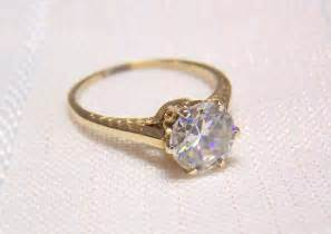 vintage gold engagement rings yellow gold engagement rings vintage inspired yellow gold engagement rings