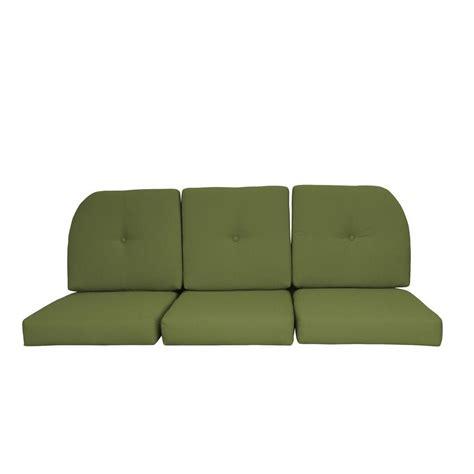 Wicker Sofa Cushion by Paradise Cushions Sunbrella Kiwi 6 Wicker Outdoor