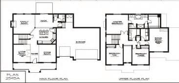 Two Story Floor Plan Modern House Plans 2 Story Modern House