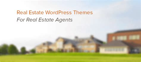 real estate wordpress themes  agents inkthemes