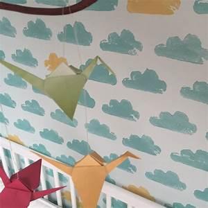 Origami Kranich Anleitung : larissaswelt origami kranich mobile ~ Frokenaadalensverden.com Haus und Dekorationen
