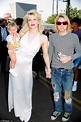 Courtney Love arm in arm with Nicholas Jarecki in NYC ...